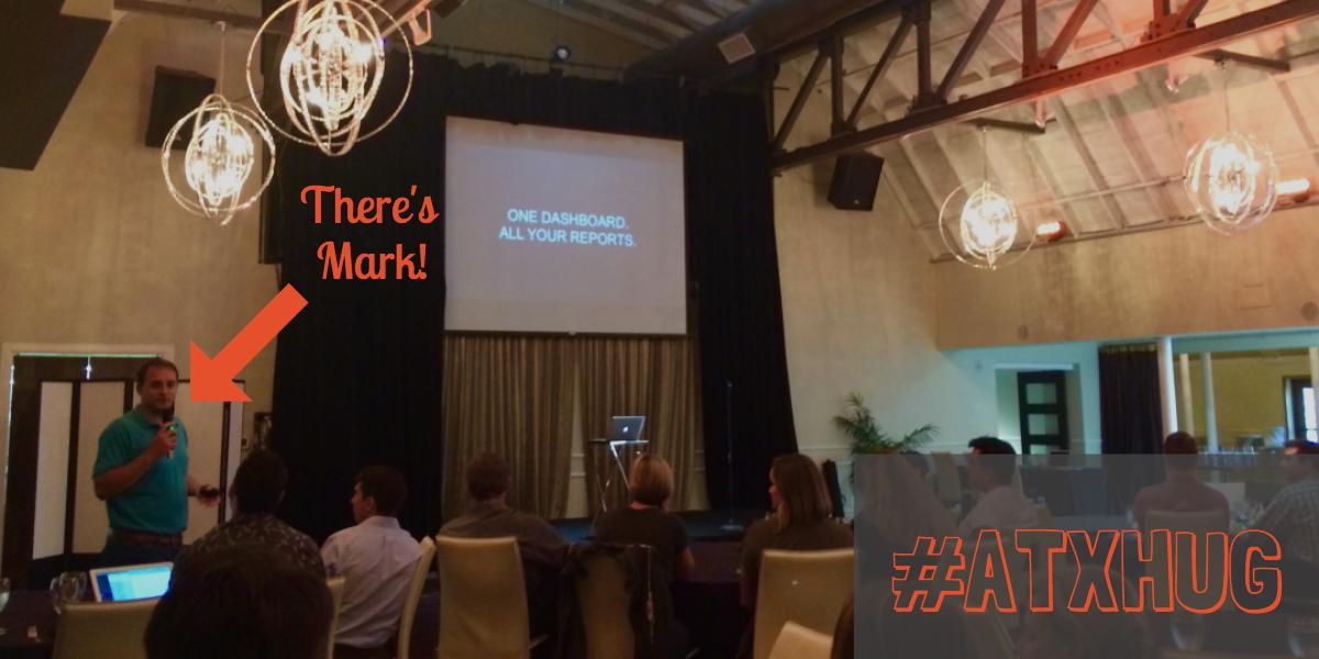 Mark Kilens speak at Austin HUbspot User Group