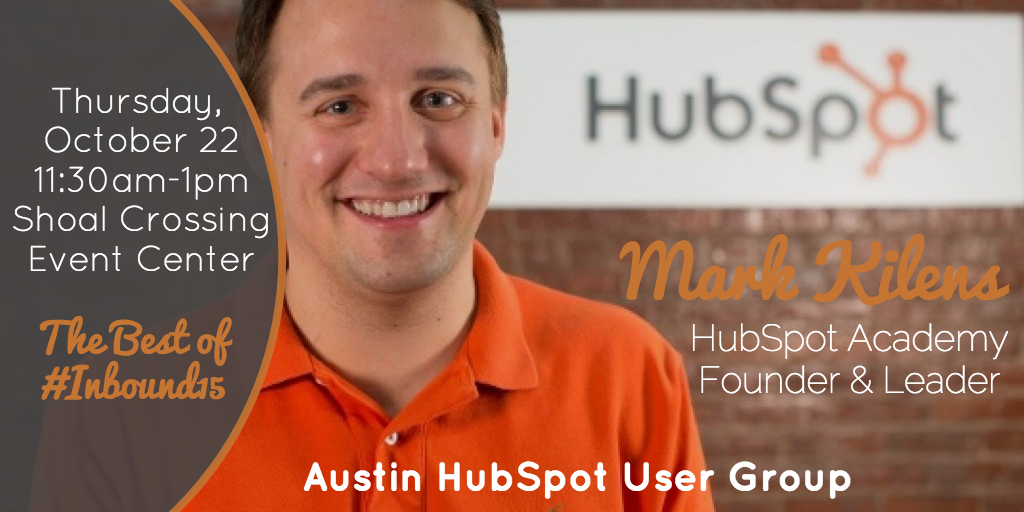 Mark Kilens and Best of Inbound15 from Hubspot